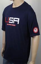 Polo Ralph Lauren Navy Blue Patriotic Olympic Crewneck Tee T-Shirt NWT