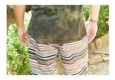 Men's Cloak Shorts Drawstring Earthbound Tribal Stripes Geometrics 41714