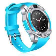 New listing Women Men Sports Bluetooth Smart Watch Remote Camera Unlocked Smart Phone Watch