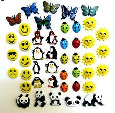 Ladybird Emoji Flower Butterfly Penguin Panda Fridge Magnets Whiteboard Magnets