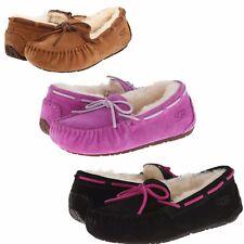 Girls Kids Ugg Australia Dakota Shoes Slipper Slip-On Moccasin Sheepskin Shoes