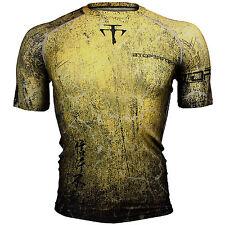 BTOPERFORM [FX-307Y] Skin Tight Compression Base layer Rash guard T-shirt MMA