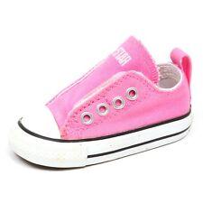 E4164 sneaker bimba CONVERSE ALL STAR SLIP ON pink shoe girl kid