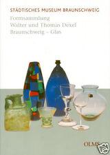 Fachbuch Formsammlung Walter und Thomas Dexel Braunschweig Glas, STATT 68,00 EUR