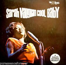 SARAH VAUGHAN with HAL MOONEY - Cool Baby (UK 12 Tk 1960s LP)