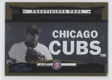 2005 Playoff Prestige Prestigious Pros Gold #PP-65 Sammy Sosa Chicago Cubs Card
