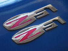 Chevrolet C6 Corvette Z51 Suspension Fender Badge Pair (3 colors)