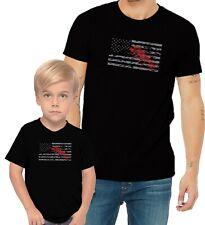 Big Lobster US Flag Adults Mans & Womens & Kids & Boy & Girl T-Shirt