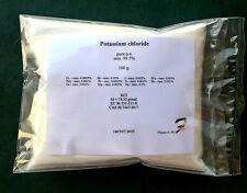 Potassium chloride (E508) - 99.5% pure p.a 50-100-200-400-800g powder