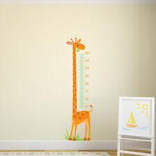 Giraf Hoogte Grafiek Muursticker WS-44905