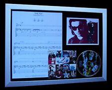 U2 The Fly LTD NOD QUALITY CD FRAMED DISPLAY+EXPRESS GLOBAL SHIP!!