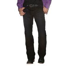 Cinch Men's Garth Brooks Sevens Easy Fit Jean Black Indigo Denim (HB50034001)