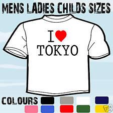 I love coeur Tokyo t-shirt toutes les tailles et couleurs