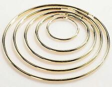 585 Gold  1 Paar Creolen 14 Karat Gelbgold Groesse wählbar von 20 mm bis 57 mm