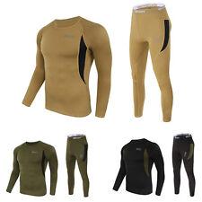 Hiver Sport Hommes Sous-vêtement Thermique Ensemble Sexy Chaude Haut & bas Johns