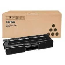 Genuino Ricoh 406348 Negro Impresora Láser Mono Cartucho de tóner