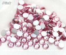 Swarovski crystals LIGHT ROSE flat back rhinestones stones for nail art x 75 pcs