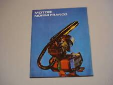 advertising Pubblicità 1970 MOTORI FRANCO MORINI