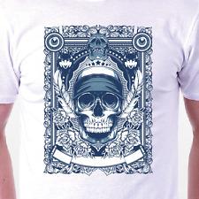 """""""el paquete"""" T-Shirt: Calavera Retro Culto muerte Tatuaje para Hombre/Damas Idea Regalo de Cumpleaños"""