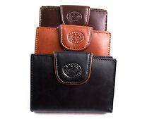 Ladies Womens Premium Quality Leather Designer Purse Credit Card holder Wallet
