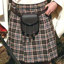 SCOTTISH Celtic HIGHLANDER Mens WOOL PLAID KILT Red or Red/Gray S M L XL XXL New