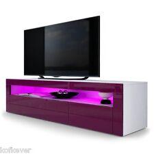 Mobile porta TV Giglio moderno salotto soggiorno sala con illuminazione led