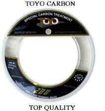 toyo carbon 200mt filo pesca mulinello travi surfcasting mare spinning fluoro