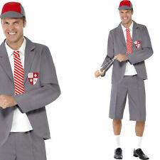 Mens School Uniform Geek Boy Stag Party Fancy Dress Costume