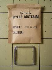 Genuine WYLER INCAFLEX Square Replacement Wrist Watch Crystal Gasket .788 x .680