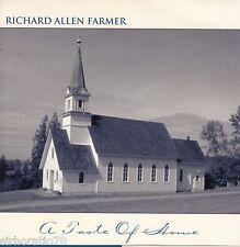 RICHARD ALLEN FARMER A Taste Of Home  CD  Signed / Christian