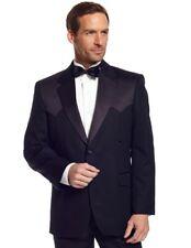 Circle S Western Sport Coat Mens Traditional Tuxedo Satin CT0129