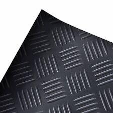 Antirutschmatte Checker Gummimatte Flachnoppenmatte Matte Ölresistent