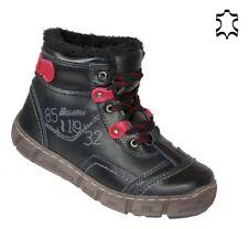 Leder Damen Stiefel Sportschuhe Winter Schuhe Warm gefüttert Outdoor 235 Schwarz