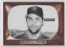 2004 Bowman Heritage Black & White 81 Lance Berkman Houston Astros Baseball Card