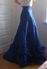Handmade Edwardian style (early 1900s) Petticoat underskirt fishtail trains,new
