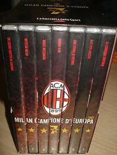 BOX COFANETTO 7 DVD AC MILAN CAMPIONI CAMPIONE D'EUROPA