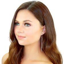 Kristin Perry Bar and Chain Threader Earrings