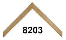 "Custom Picture Frame | 5/8"" Sleek Birch Wood | Great for Photos & Artwork"