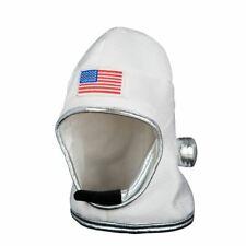 Astronaut Helmet NASA Spaceman Flight Hat Sci Fi Fancy Dress Rocket Universe