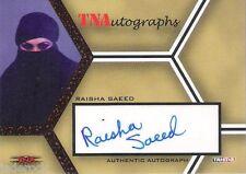 Raisha Saeed 2008 Tristar TNA Impact Signature Red Autograph #4/25 Ring Ka King