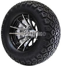 "12"" RHOX RX101 Wheel with Tire Combo and Yamaha Golf Cart Lift Kit"