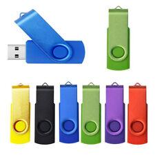 1-64 GB Swivel USB 2.0 Flash Memory Stick Pen Drive Storage Thumb U Disk NEW SP