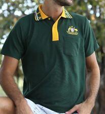 Soccer Football Rugby Jersey Top polo T-Shirt Australia Souvenir Kangaroo emu