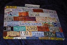 US Car Nummernschilder USA  Blechschild  20x30 cm Toll