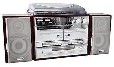 Karcher KA 320 Kompakt Stereoanlage CD USB MP3 Radio Schallplatten Kassette SD