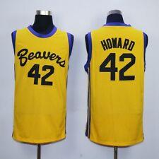Teen Wolf Scott Howard 42 Beavers Movie Basketball Jersey Michael J Fox Werewolf