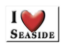 SOUVENIR UK - SCOTLAND FRIDGE MAGNET I LOVE SEASIDE (PERTH AND KINROSS)