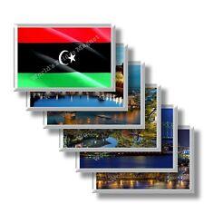 LY - Libia - frigo calamite frigorifero souvenir magneti