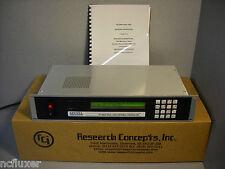 RESEARCH CONCEPTS RC2000A DUAL AXIS ANTENNA CONTROLLER RC2KA NEW! NO D.O.A!!!