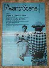 L'AVANT SCENE THEATRE N° 226 1960 HOMME A L'OMBRELLE BLANCHE Ch Charras 50 MNS